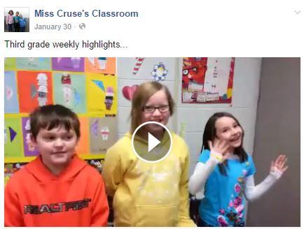 Third Grade Weekly Highlights