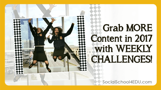 Grab More Content in 2017 with Weekly Challenges Blog Post