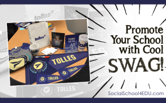 Promote Your School with Cool SWAG!