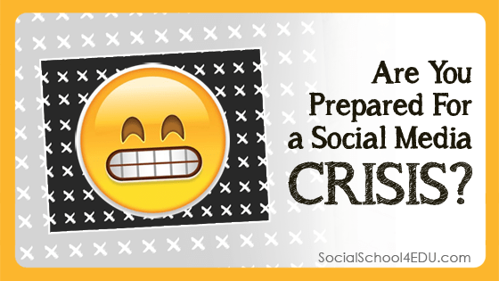 Are you prepared for a social media crisis?