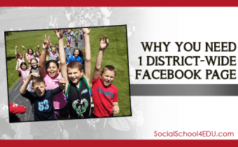 Why you need ONE district-wide Facebook page