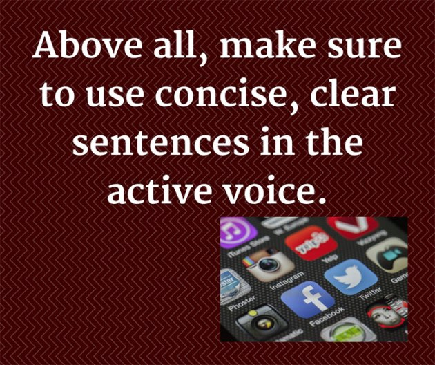 Basic Grammar and Style for Social Media