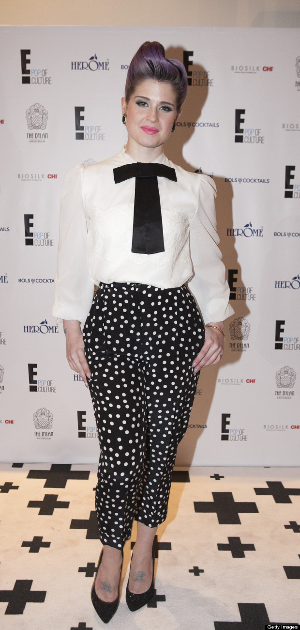 Kelly Osbourne Visits Amsterdam To Promote E's Fashion Police