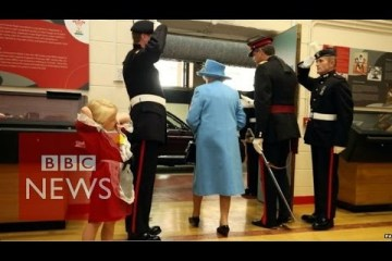 Child-hit-in-face-by-soldier-saluting-the-Queen-BBC-News