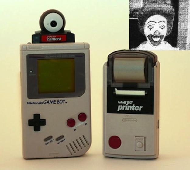 Gameboy Camera and printer