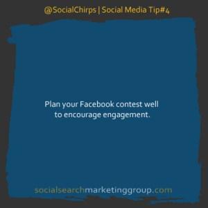 Facebook Contest Plan Tip