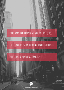Twitter Tip: Join Twitter Chats