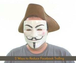 ways to reduce trolling