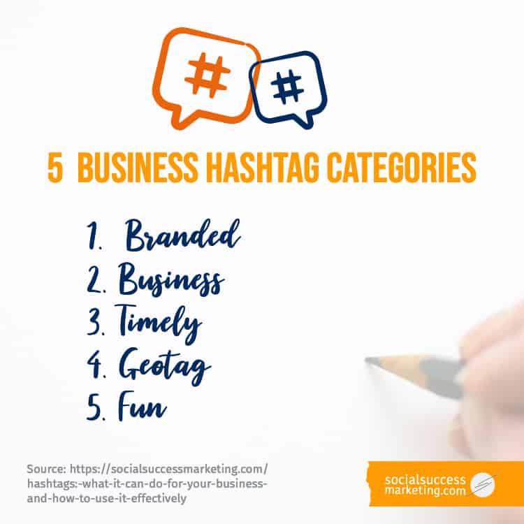 hashtag categories