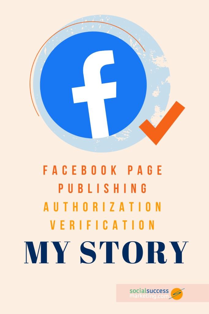 facebook authorization verification story pinterest
