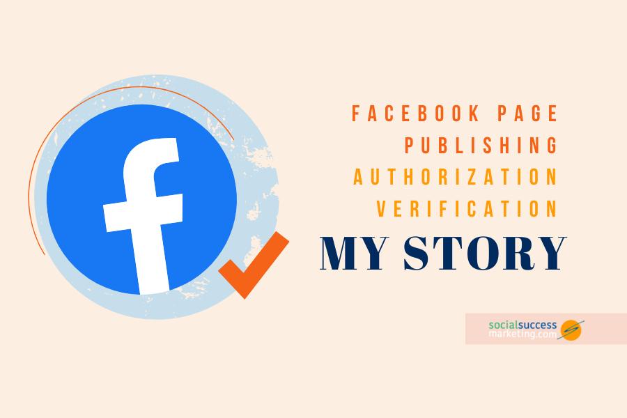 facebook authorization verification story