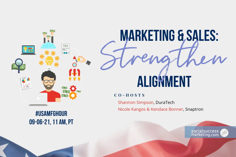 marketing sales alignment Twitter chat