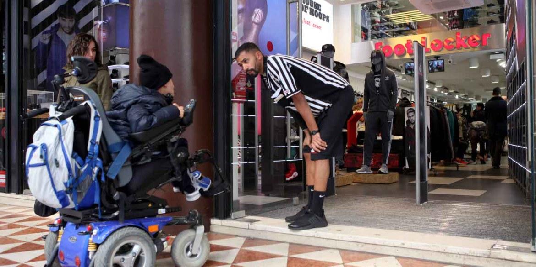 shopping disabili