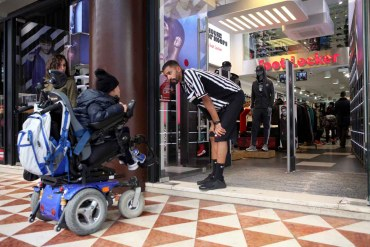 shopping disabili