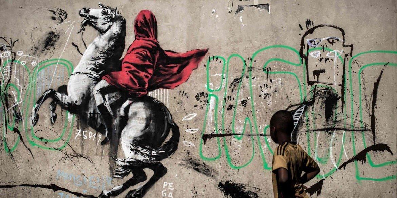 Banksy a Parigi