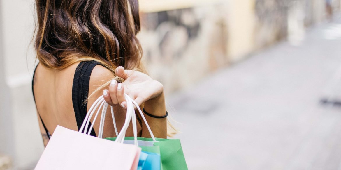 donne shopping