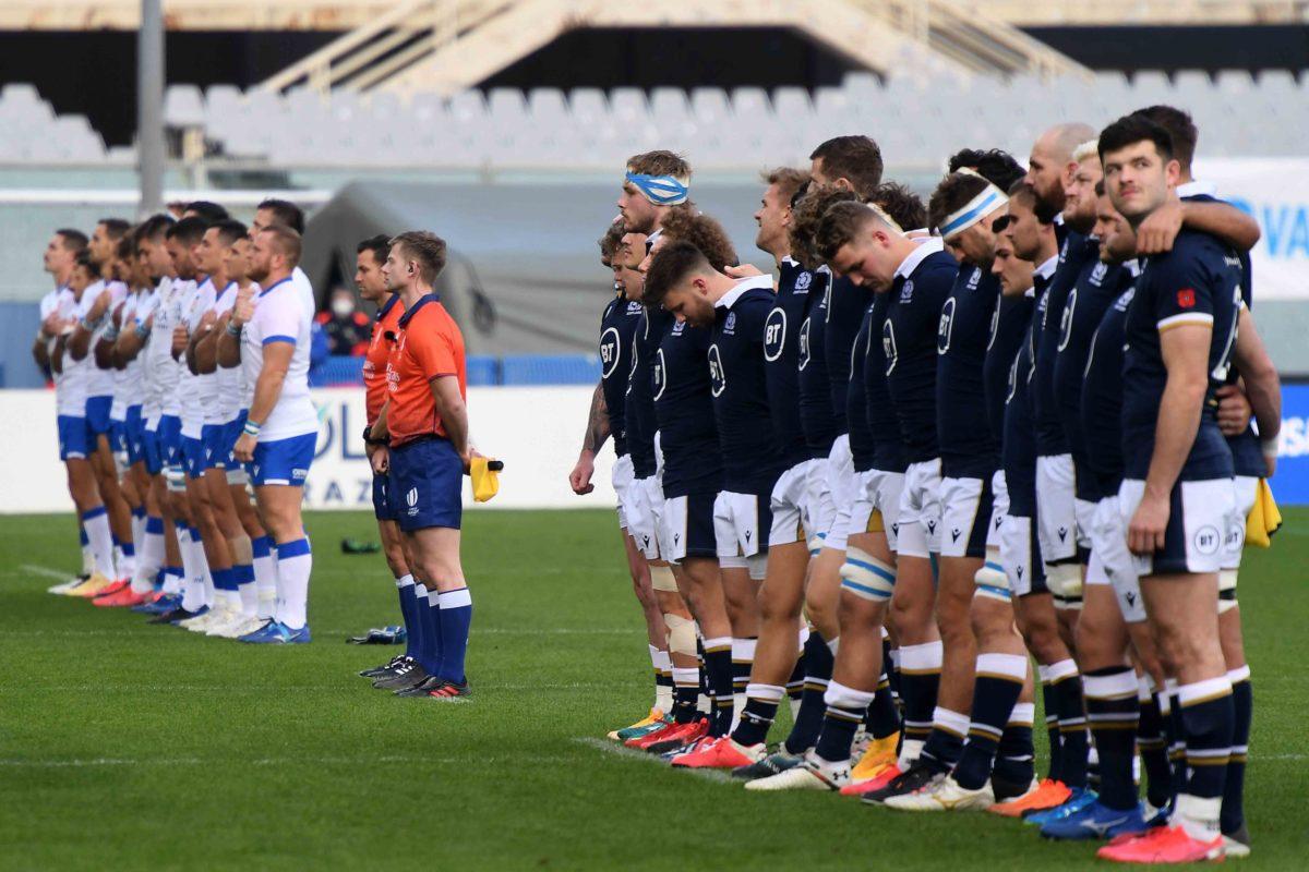Italia vs Scozia nell'Autumn Nations Cup