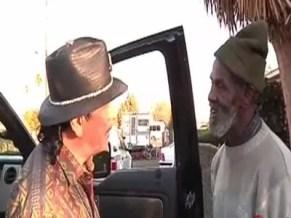 Carlos Santana and Marcus Malone