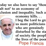 Pope Francis Visit to the US Aims to Highlight Poverty and Discrimination