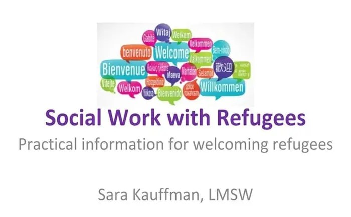 Social Work with Refugees