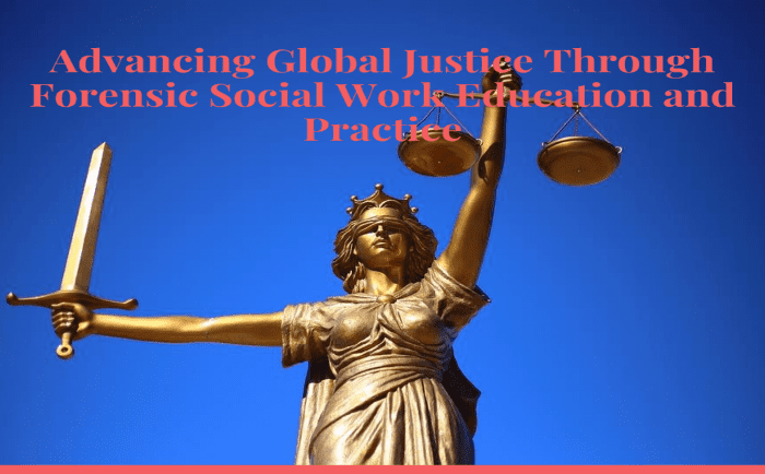 Advancing Global Justice through Forensic Social Work Education and Practice