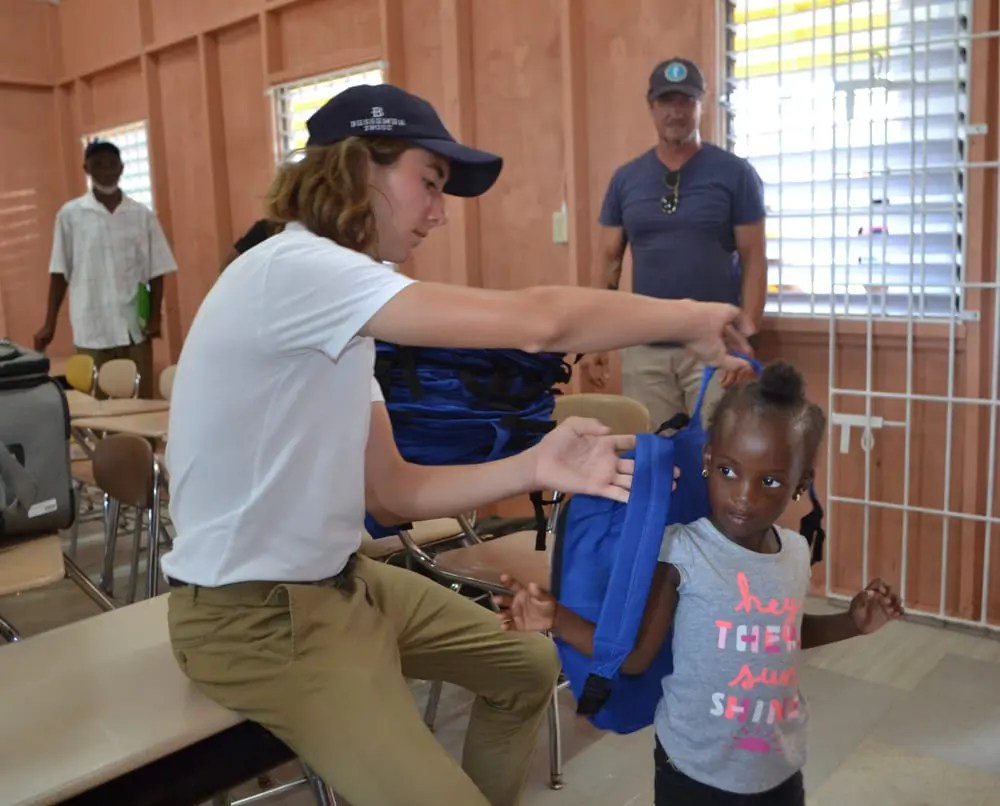 Building Abroad: Local Teen's Passion Impacts Young Minds in Jamaica