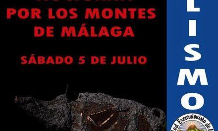 Salida nocturna en bicicleta por los Montes de Málaga  sabado 5 de julio