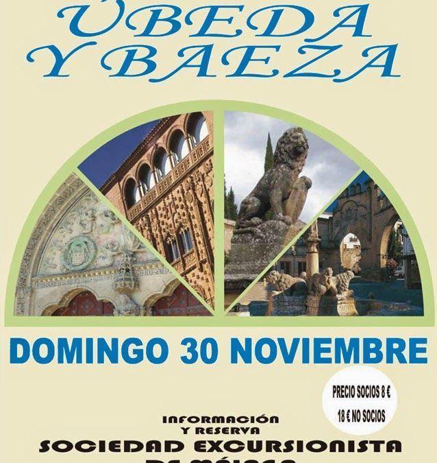 Excursión Úbeda y Baeza, domingo 30 de noviembre.