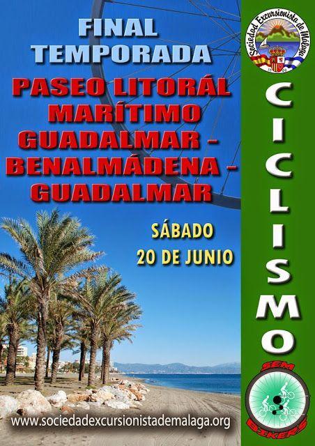 Paseo por el litoral maritimo Guadalmar – Benalmadena