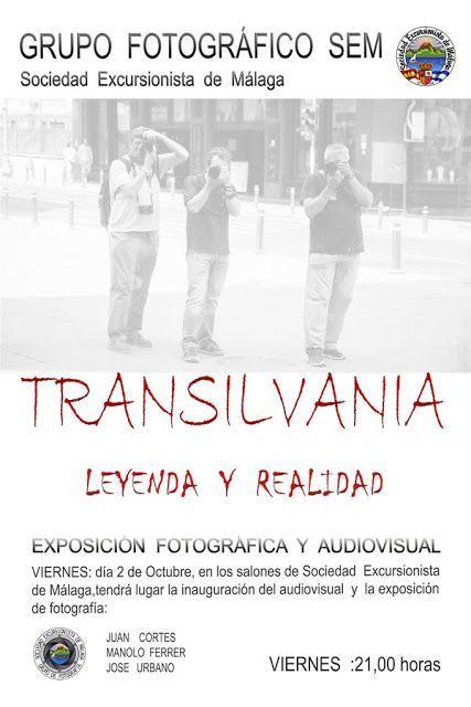 Audiovisual y exposición de TRANSILVANIA, viernes 2 de octubre