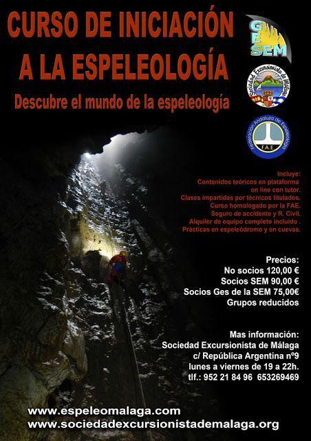 Curso de Iniciación a la espeleología
