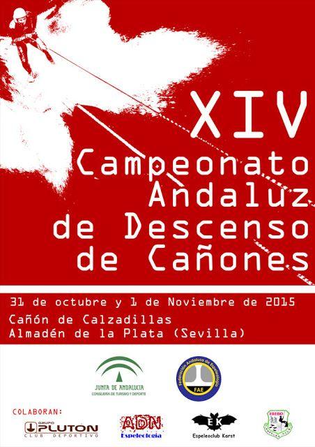 XIV campeonato andaluz de descenso de cañones, 31 de octubre 1 de noviembre