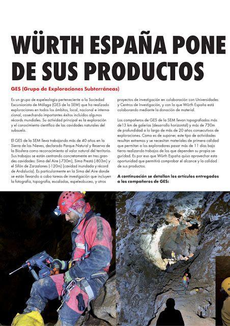 Ges de la SEM: Würth España pone a prueba la calidad de sus productos