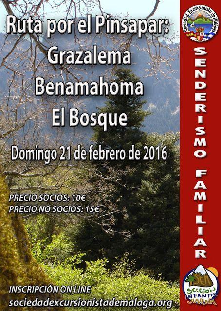Ruta por el Pinsapar: Grazalema-Benamahoma -El Bosque, Domingo, 21 de Febrero de 2016