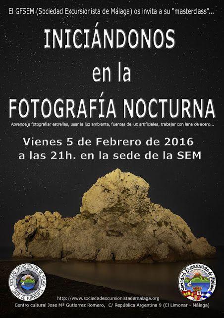 Iniciándonos en la fotografía nocturna, viernes 5 de febrero