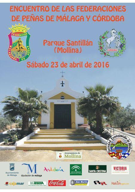 Reunión de las federaciones de Málaga y Córdoba en Mollina, sábado 23 de abril