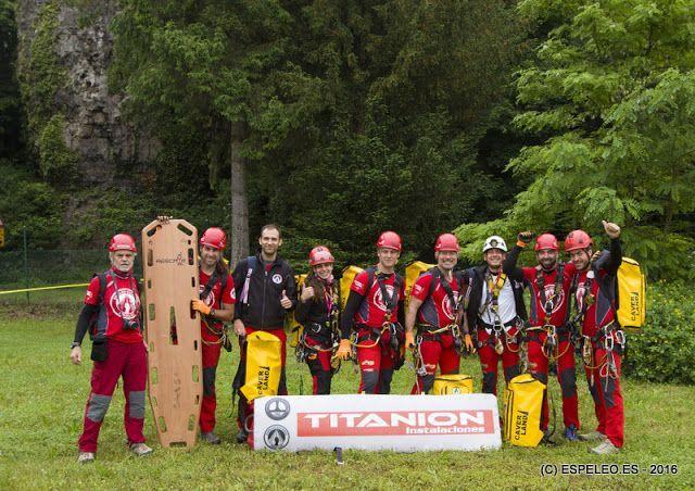 El Espeleosocorro Andaluz se ha proclamado campeón del mundo de rescate vertical