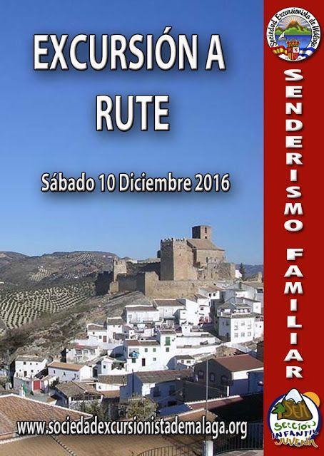 Excursión a Rute, sábado 10 de diciembre 2016