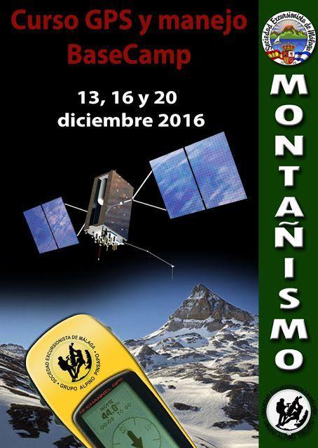 Curso de GPS y Basecamp 13, 16 y 20 diciembre 2016