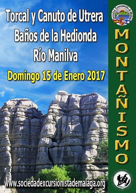 Torca y Canuto de Utrera. Baños de la Hedionda. Río Manilva, Domingo 15 de enero