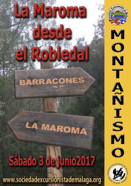 Subida a la Maroma desde El Robledal