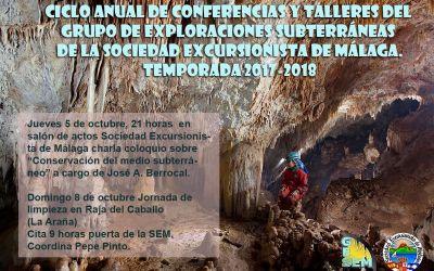 Ciclo anual de conferencias y talleres del GES