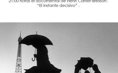 """Proyección documental: """"El instante decisivo"""""""