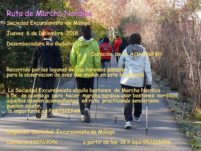 Ruta de Marcha Nórdica [6 Diciembre]