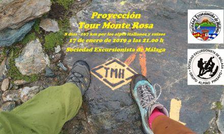 Proyección Tour Monte Rosa