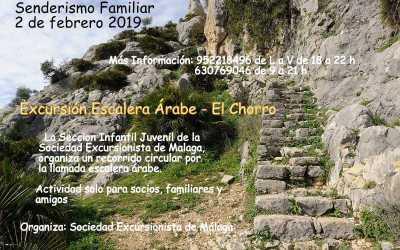 [Excursión] Escalera Árabe, El Chorro, 2 de febrero de 2019