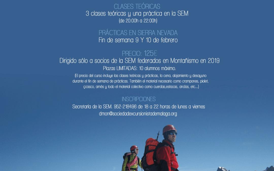 [CURSO] Iniciación al Alpinismo