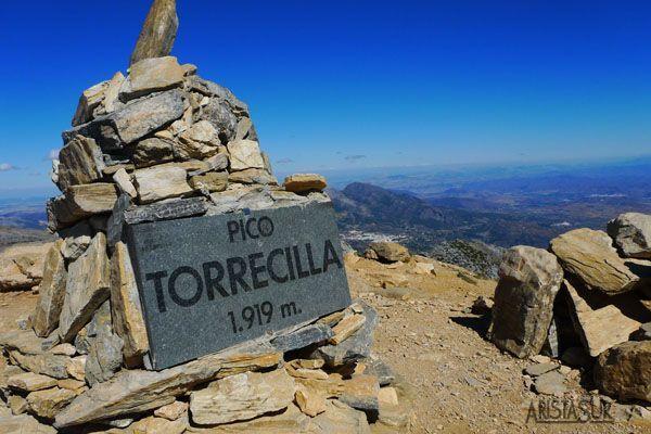 Subida al pico Torrecilla por el paso del Cristiano
