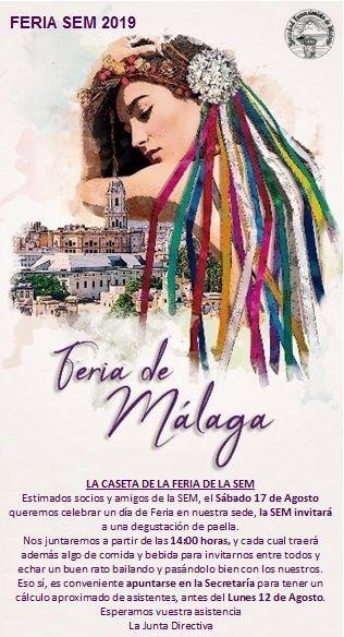 Feria de Málaga en la SEM