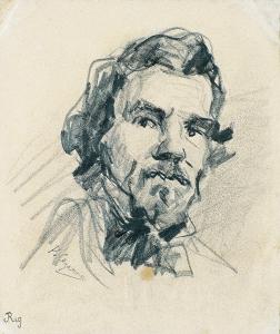 C0155 Portrait de Delacroix 64-66